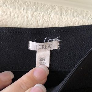 J. Crew Pants - J Crew Black Pixie Pant Size 2
